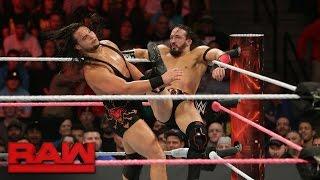 Neville vs. Bo Dallas: Raw, 17. Oktober 2016