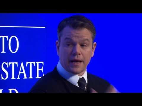 Davos 2017 - An Insight, An Idea with Matt Damon and Gary Wh