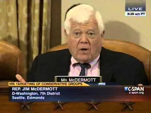 House Democrat Jim McDermott Tells Conservatives They Had It Coming