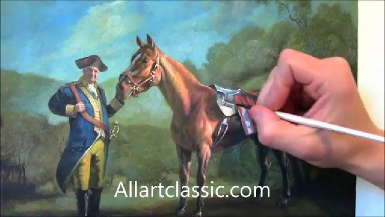 Portrait painting of tony soprano as napoleon bonaparte for Napoleon horse painting
