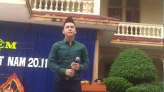 The Men Biểu Diễn Ở Trường THPT Quỳnh Lưu 3 Nghệ An.mp4