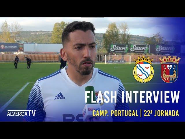 FC Alverca 0-0 Torreense | Flash Interview