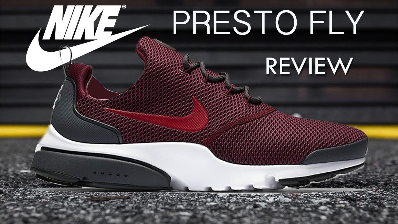 nike presto running review