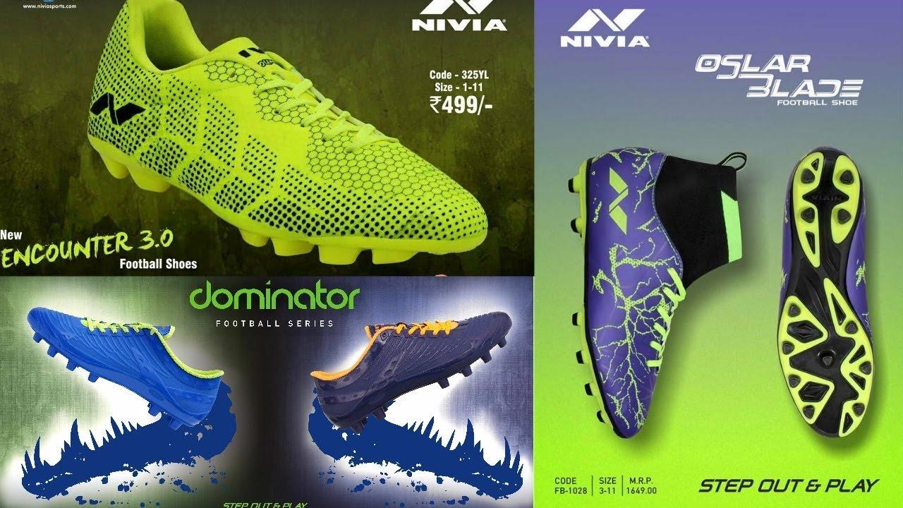 Top 5 Nivia Football Boots. - YouTube