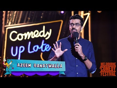EIC: Azeem Banatwalla at Melbourne International Comedy Festival 2018   Comedy Up Late