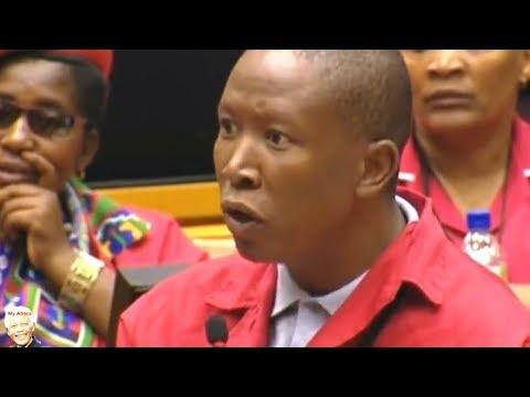 WATCH - EFF Grills Cyril Ramaphosa