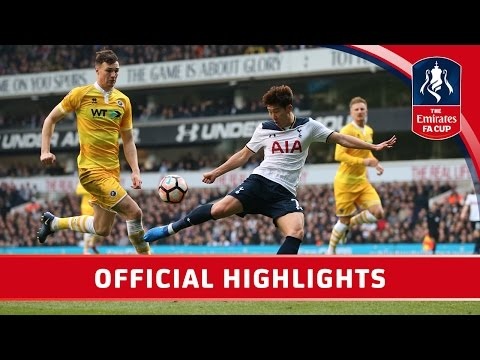 Tottenham Hotspur 6-0 Millwall – Emirates FA Cup 2016/17 (QF) | Official Highlights