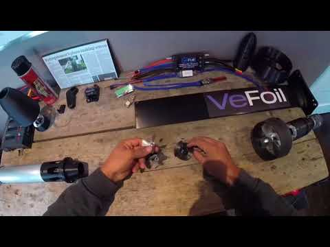 VeFoil Part 6 DIY Electric Hydrofoil Propulsion System