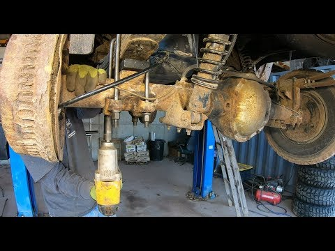 New Seat And Leaf Springs In A Dodge Pickup Truck