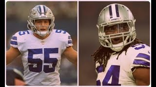 Leighton Vander Esch & Jaylon Smith vs The Rams Rbs || Dallas Cowboys Film Session