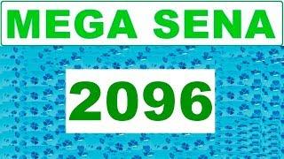 Mega sena 2096 - Resultado da Mega sena dia (10/11/2018)