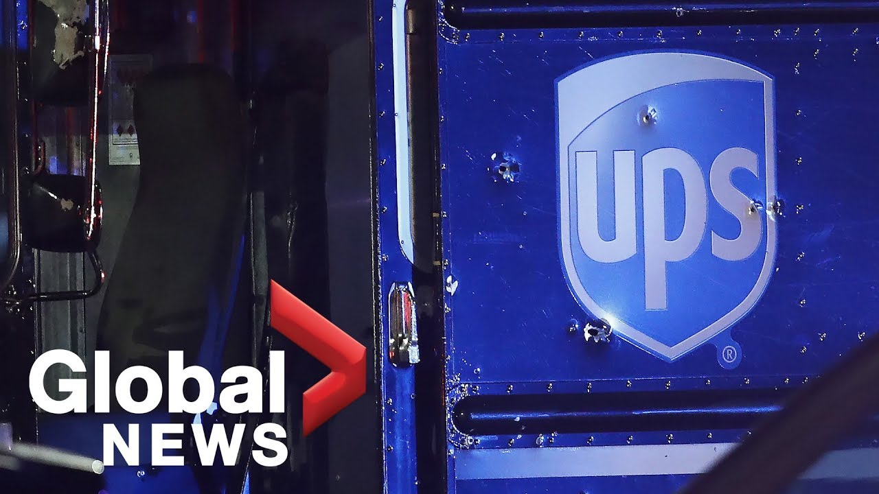 UPS driver killed in armed robbery, chase and shootout identified as ...