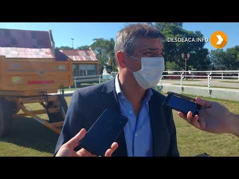 #MORTEROS | MUNICIPIO INCORPORA MAQUINARIA PARA MEJORAR SERVICIOS