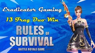 Practicing Claw // (Rules of Survival: Battle Royale Game#7)// Eradicator