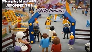 Playmobil Vacances au parc d attraction FETE  FORAINE summer fun family