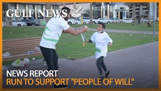 Run to support 'people of will' in UAE