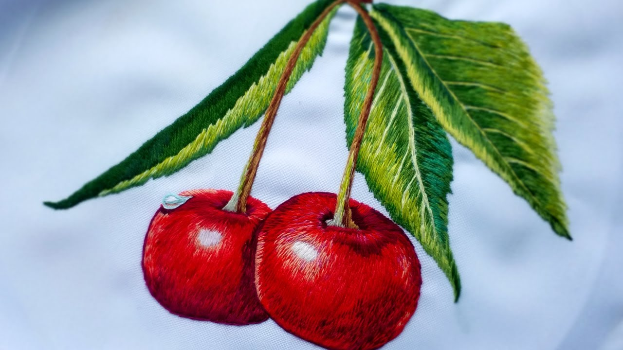 EMBROIDERY: CHERRY (1)