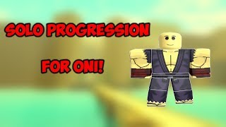 Solo Progression For Oni #1 | Rogue Lineage | ROBLOX