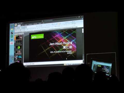 MobilMania.cz: Tisková konference Nvidia - CEO Jen-Hsun Huang [CES 2012]