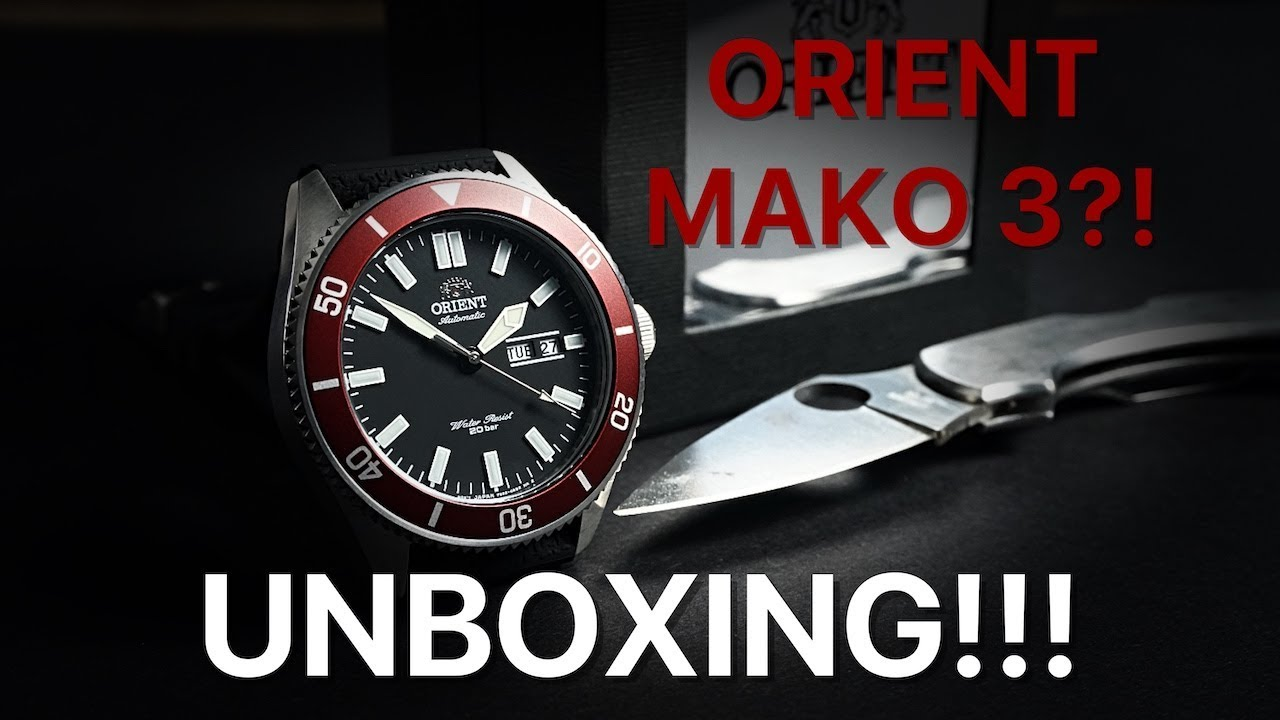 Orient Mako 3 Unboxing Youtube