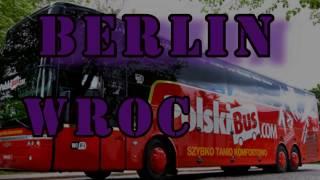 Путешествие по европе. BERLIN WROCŁAW. На автобусе PolskiBus 340 км. за пол часа.(, 2017-01-04T21:46:53.000Z)