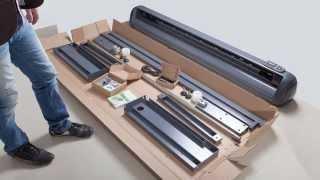 Відео інструкція з встановлення (інсталяції) ріжучого плоттера ZeonCut 1700 Pro від компанії Зенон