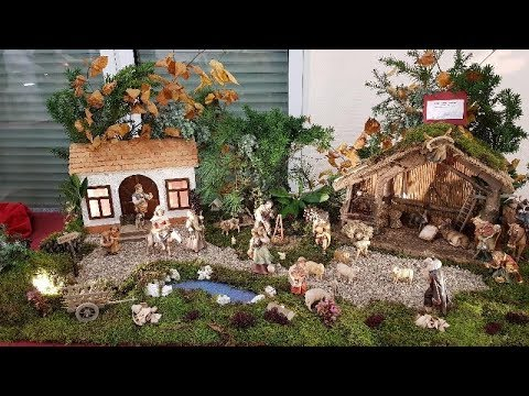 Manger (Nativity) Scenes 2017 in Antrifttal-Ruhlkirchen