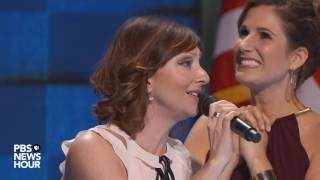 Broadway stars perform