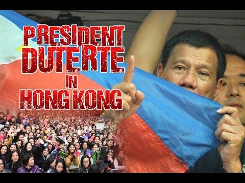 President Rodrigo Roa Duterte, Meeting with the Filipino Community in Hong Kong - May 13, 2017