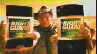 Brett Favre Right Guard Deodorant Commerical