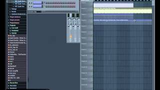 сведение треков в FL Studio часть первая  DJ GoldenLion