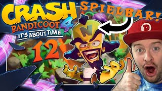 CRASH BANDICOOT 4: IT'S ABOUT TIME 📦 #12: Cortex Erkundungstour durch den prähistorischen Dschungel