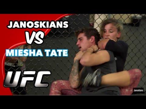 FIGHTING A CHAMPION WOMAN UFC FIGHTER Miesha Tate