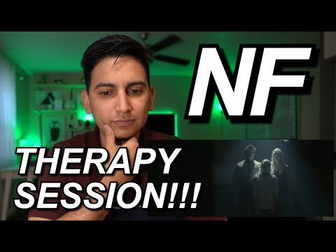 NF - THERAPY SESSION VIDEO REACTON | HE AINT DOING MUSIC FOR US