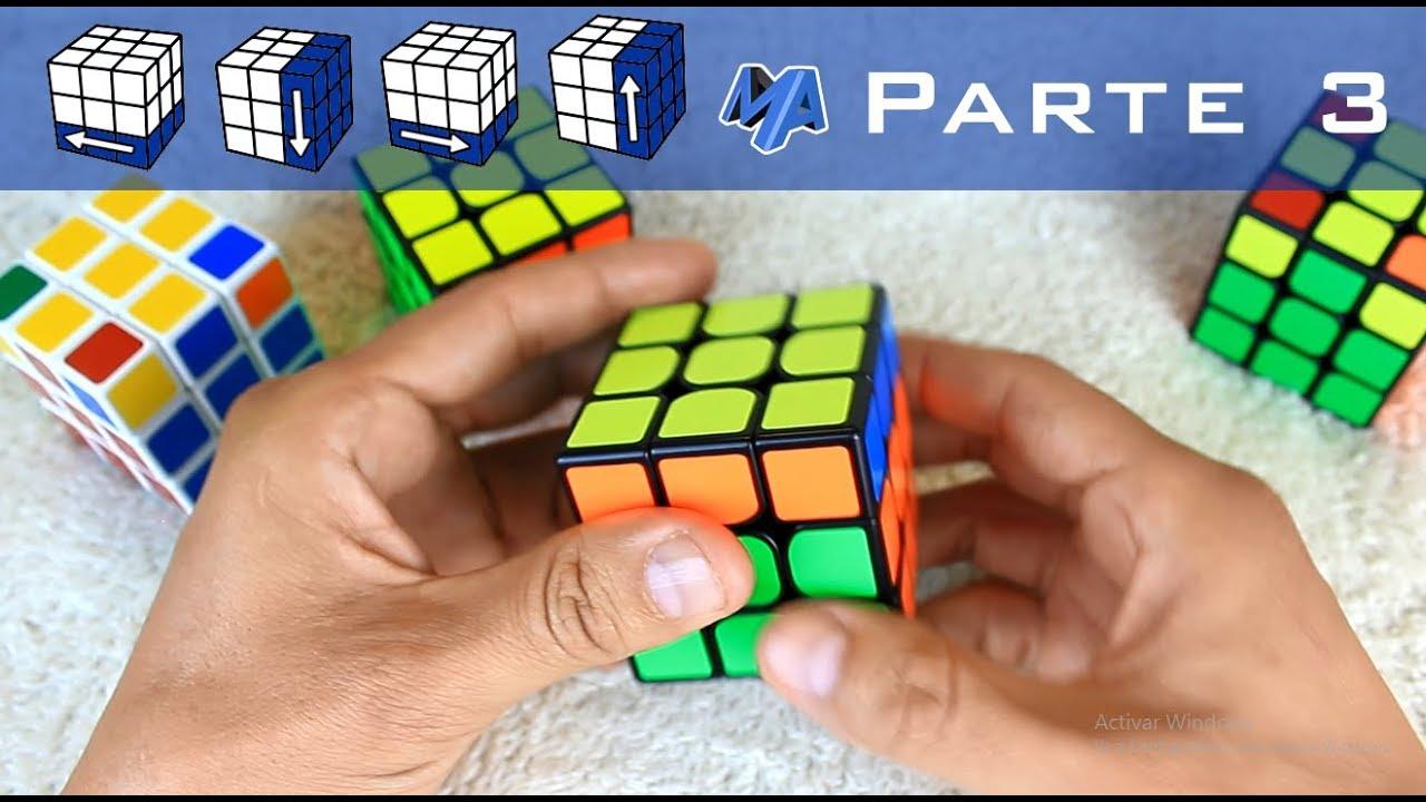 Como Armar Un Cubo Rubik Principiantes Parte 3 De 3 Youtube