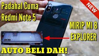 Unboxing Case Yg Lagi BOMING Buat Xiaomi Redmi Note 5 Jadi Kayak Mi 8 Explorer
