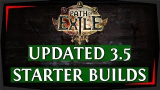 PoE 3.4 Builds - 5 Powerful Delve League Starter Builds (Path of Exile 2018)