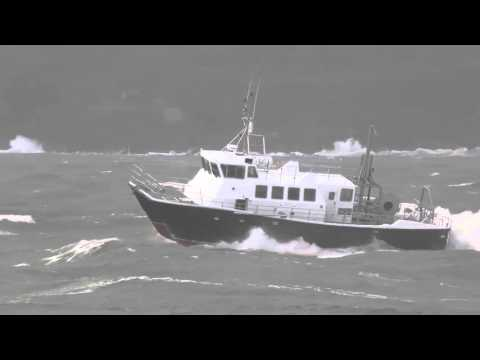 Wildcat 60 rough weather sea trials