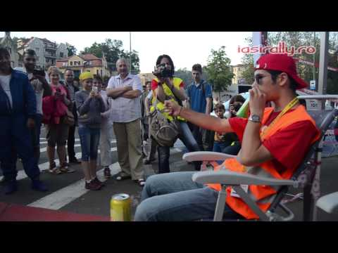 Super Rally Fan F1 SOUND made with a BEER CAN @ Liviu Opran feat. Ferrari 458 Italia @ iasirally.ro