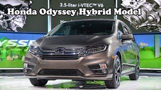 New Honda Odyssey Hybrid Model Coming in 2018