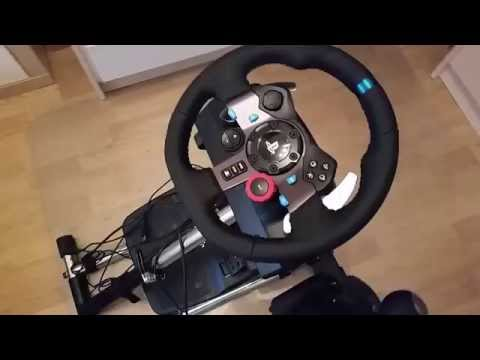 Logitech G29/G920 Setup Video - Wheel, Pedal and Wire