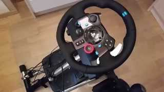 Repeat youtube video Logitech G29 & Wheel Stand Pro