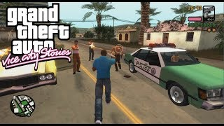 GTA Vice City Stories PC Edition - **** Chase (GAMEPLAY)