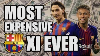Barcelona's Most Expensive XI Ever