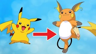 ALL POKEMONS EVOLUTIONS in ONE VIDEO - (Before and After the Evolution)