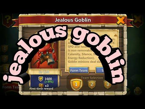 Jealous Goblin Lvl 120 Castle Clash F2P