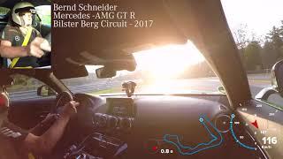 AMG GT R with Bernd Schneider in Bilster Berg