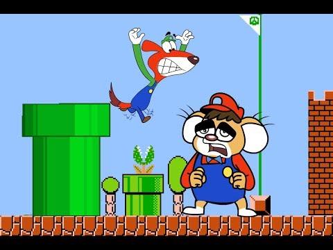 Rat-A-Tat  'Super Mario Mice Bros Real Video game 1 Hour fun'  Chotoonz Kids Funny Cartoon Videos