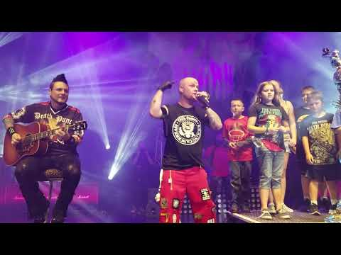 Five Finger Death Punch - Remember Everything (w/ kids on stage); DTE Energy Music Theater; 9-1-2018