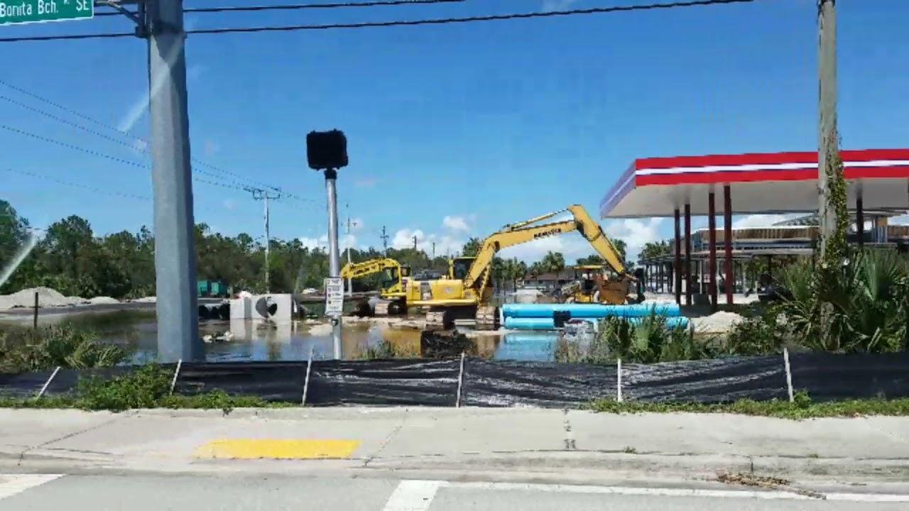 Hurricane Irma Hammers Naples And Bonita Springs Florida